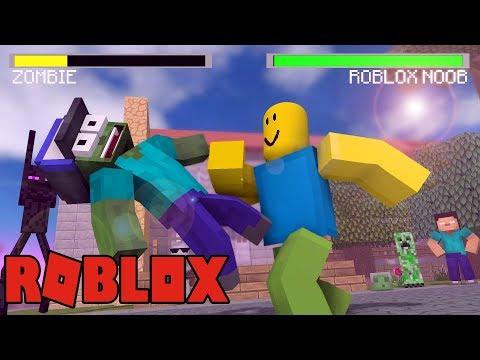 Monster School Vs Roblox Minecraft Animation Minecraft Videos