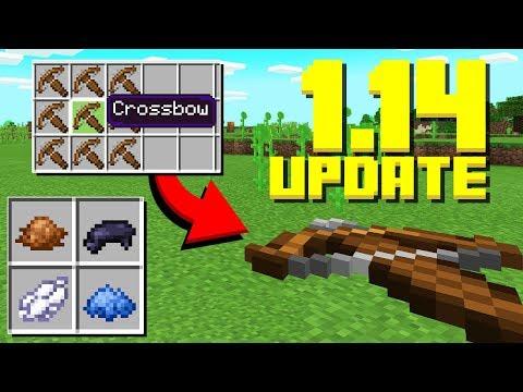 New Crossbows New Items Panda Update Minecraft 1 14 Snapshot