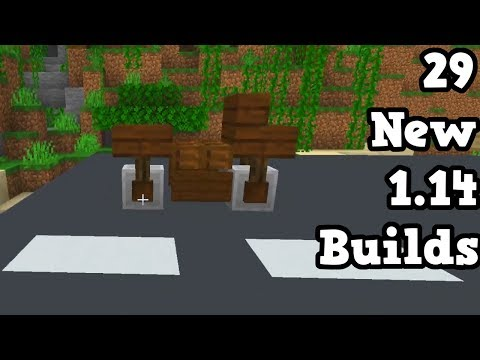 29 New Builds Only Possible In Minecraft 1 14 Minecraft Videos