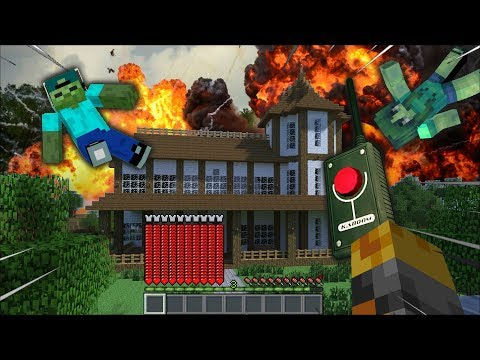 MARK FRIENDLY ZOMBIE BLOWS UP HOUSE WITH EXPLOSIVES MOD