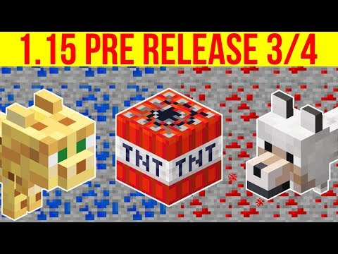 Minecraft 1 15 Pre Release 4 Tnt Drop Fix Shulkers In Boats