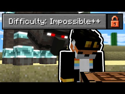 So I Made Minecraft Actually Impossible Minecraft Videos